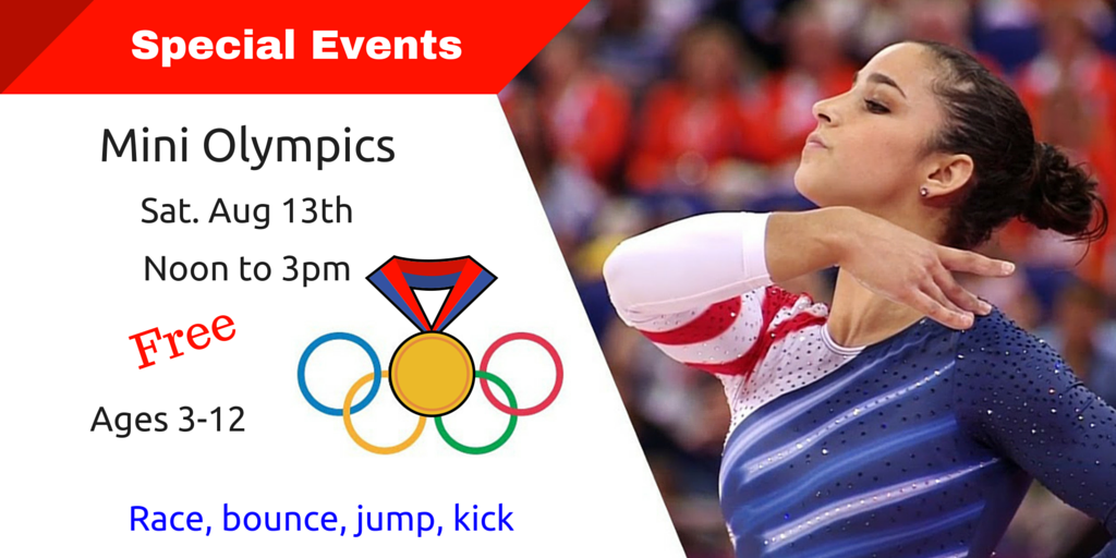 Mini-Olympics Aug13th